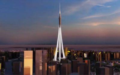 Dubai Creek Tower. Calatrava's latest work