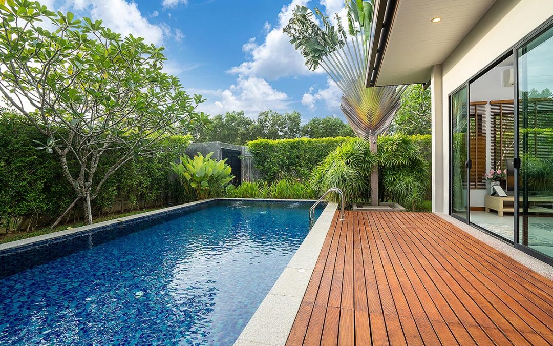 WHAT IS THE IDEAL SIZE OF A POOL FOR YOUR GARDEN?